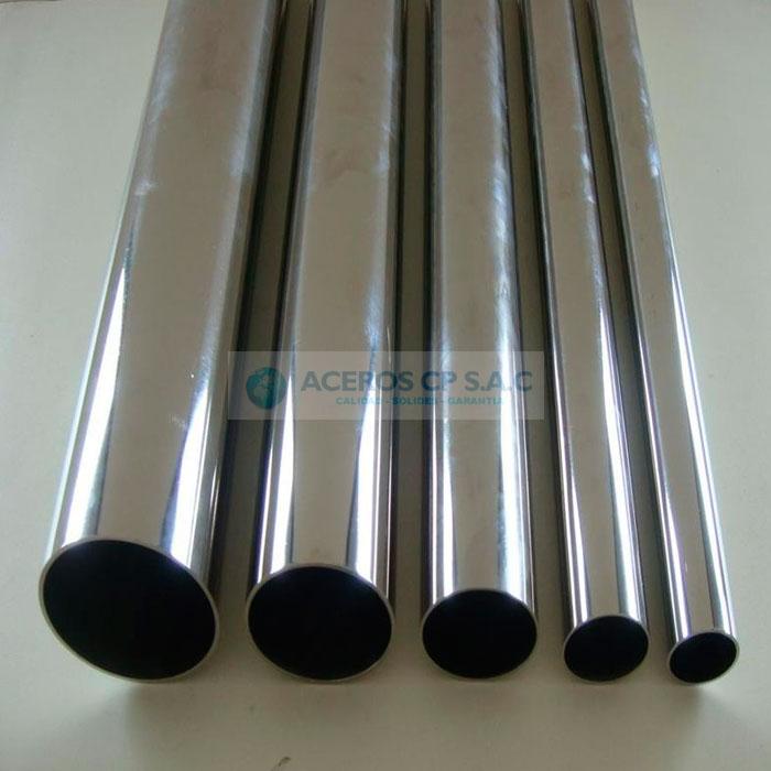 Tubos de acero inoxidable aceros cp s a c - Tubos de acero inoxidable para chimeneas ...